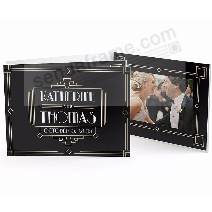 ART DECO AFFAIR Cardboard Photo Folder for 6x4 prints