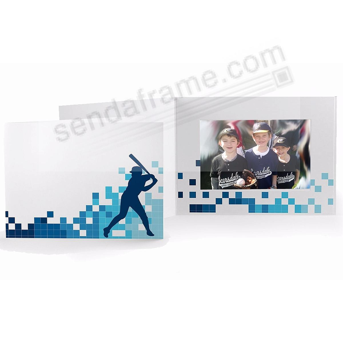 BASEBALL LOCKER ROOM Cardboard Photo Folder for 6x4 prints