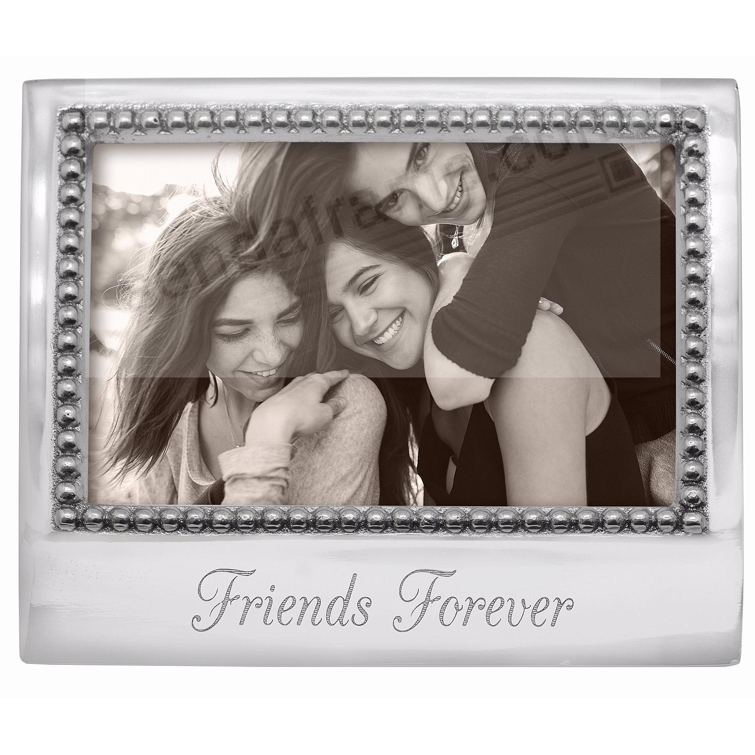 FRIENDS FOREVER Statement frame crafted by Mariposa®