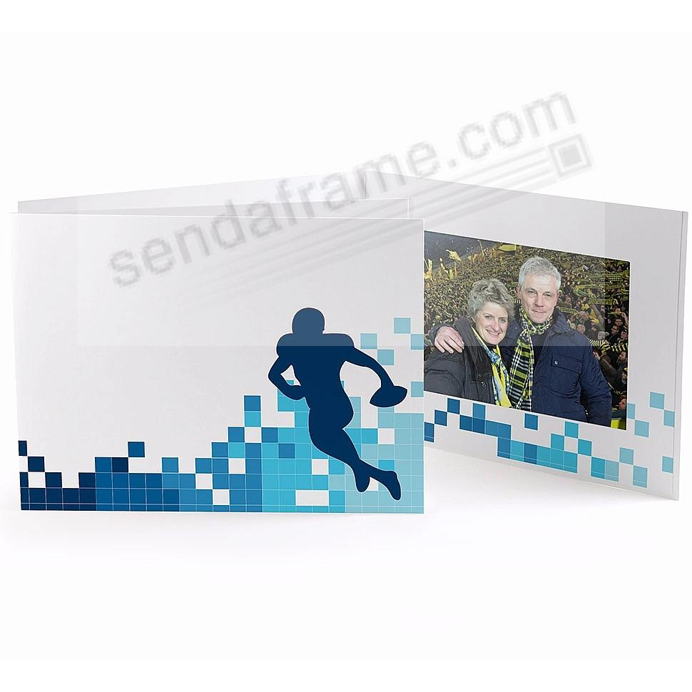 FOOTBALL LOCKER ROOM Cardboard Photo Folder for 7x5 prints