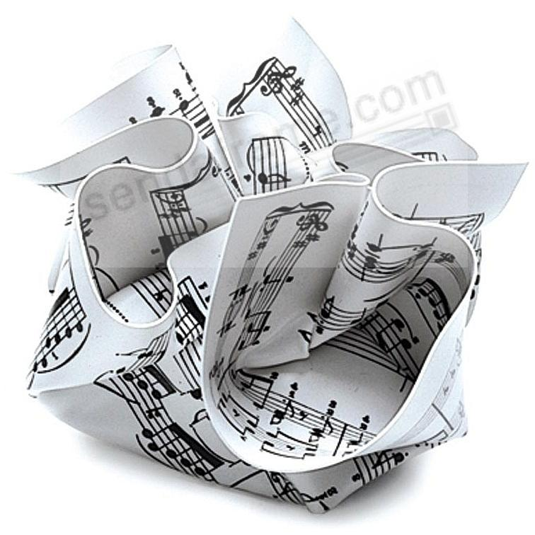 The Original CRUMPLED SHEET MUSIC PAPERWEIGHT by The Museum of Modern Art®