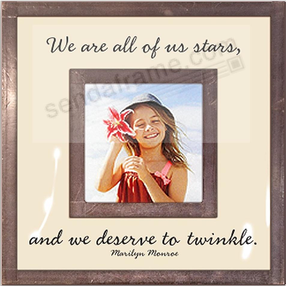 WE ARE ALL OF US STARS... Copper + Clear Glass by Ben's Garden®