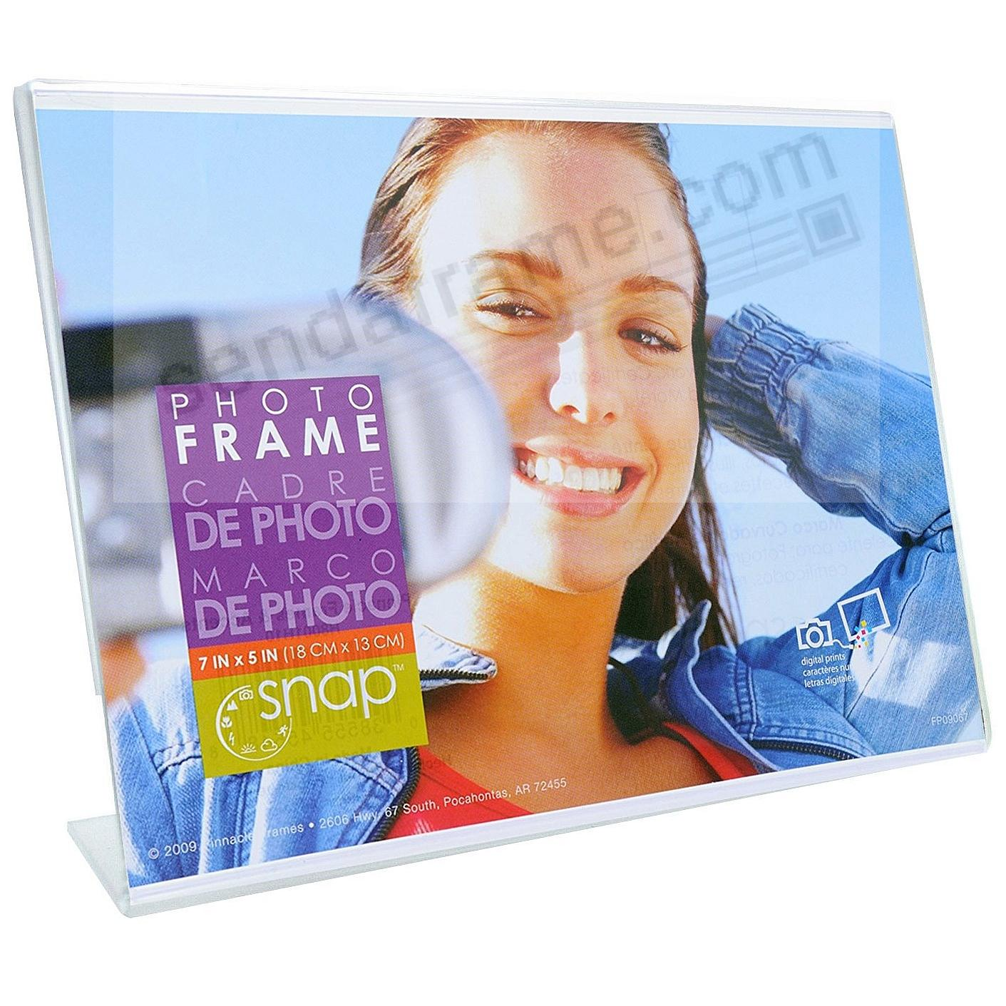 Ultra-clear Acrylic Bent-L 7x5 Frame by SNAP®