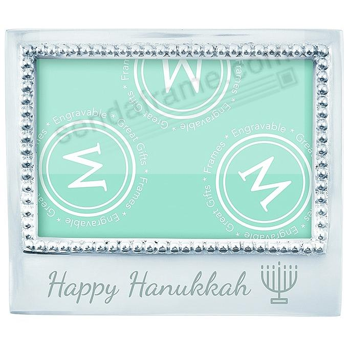 The original HAPPY HANUKKAH Statement frame crafted by Mariposa®