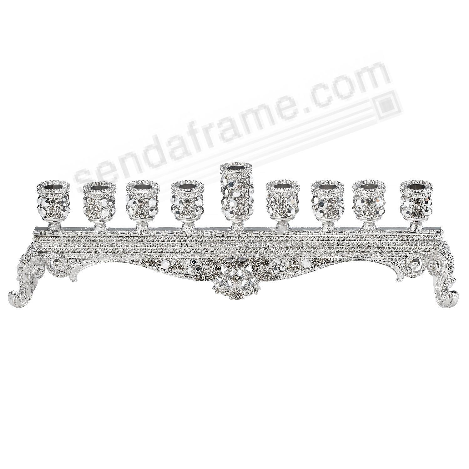 The ABBY CRYSTAL MENORAH by Olivia Riegel®