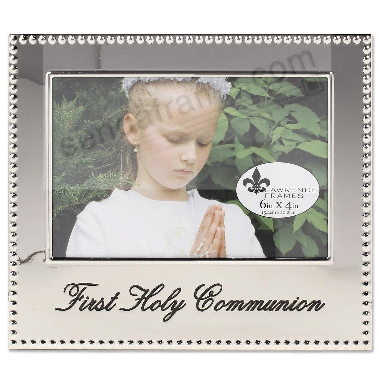 FIRST HOLY COMMUNION special engraved celebration frame