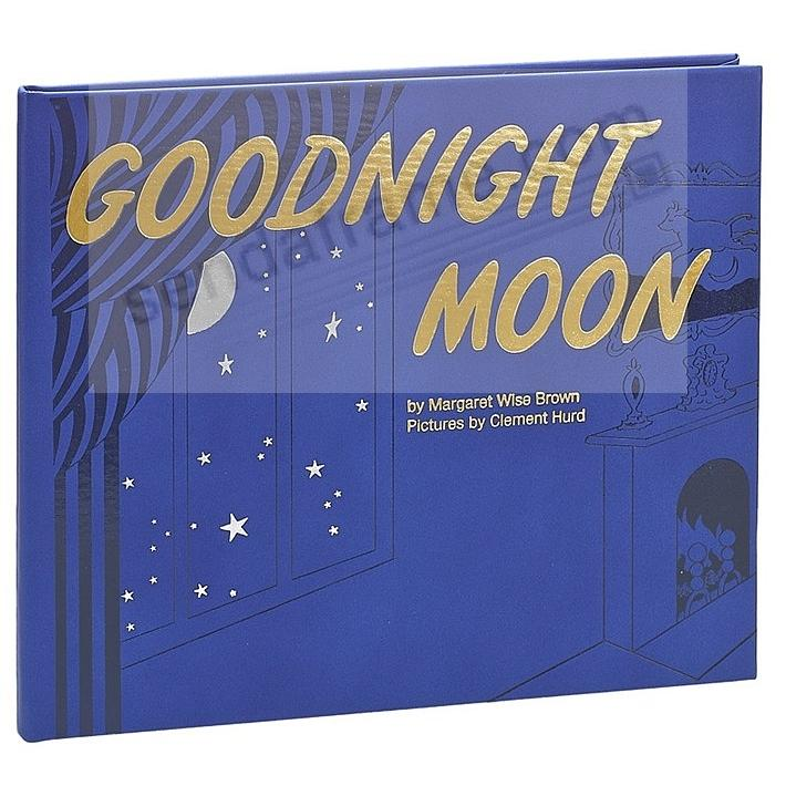 GOODNIGHT MOON Keepsake Edition In Hand-Tooled Genuine Leather