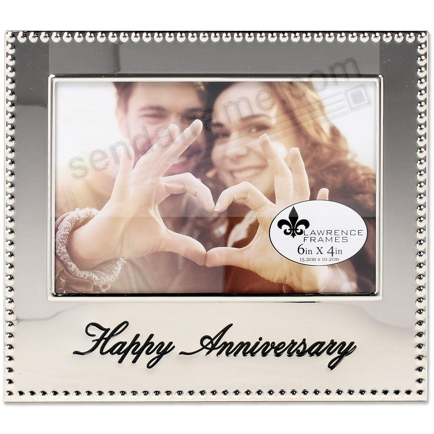 HAPPY ANNIVERSARY special engraved celebration frame