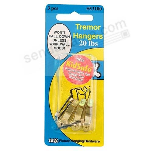 Kid-Safe Tremor 20lb Hangers by OOK®