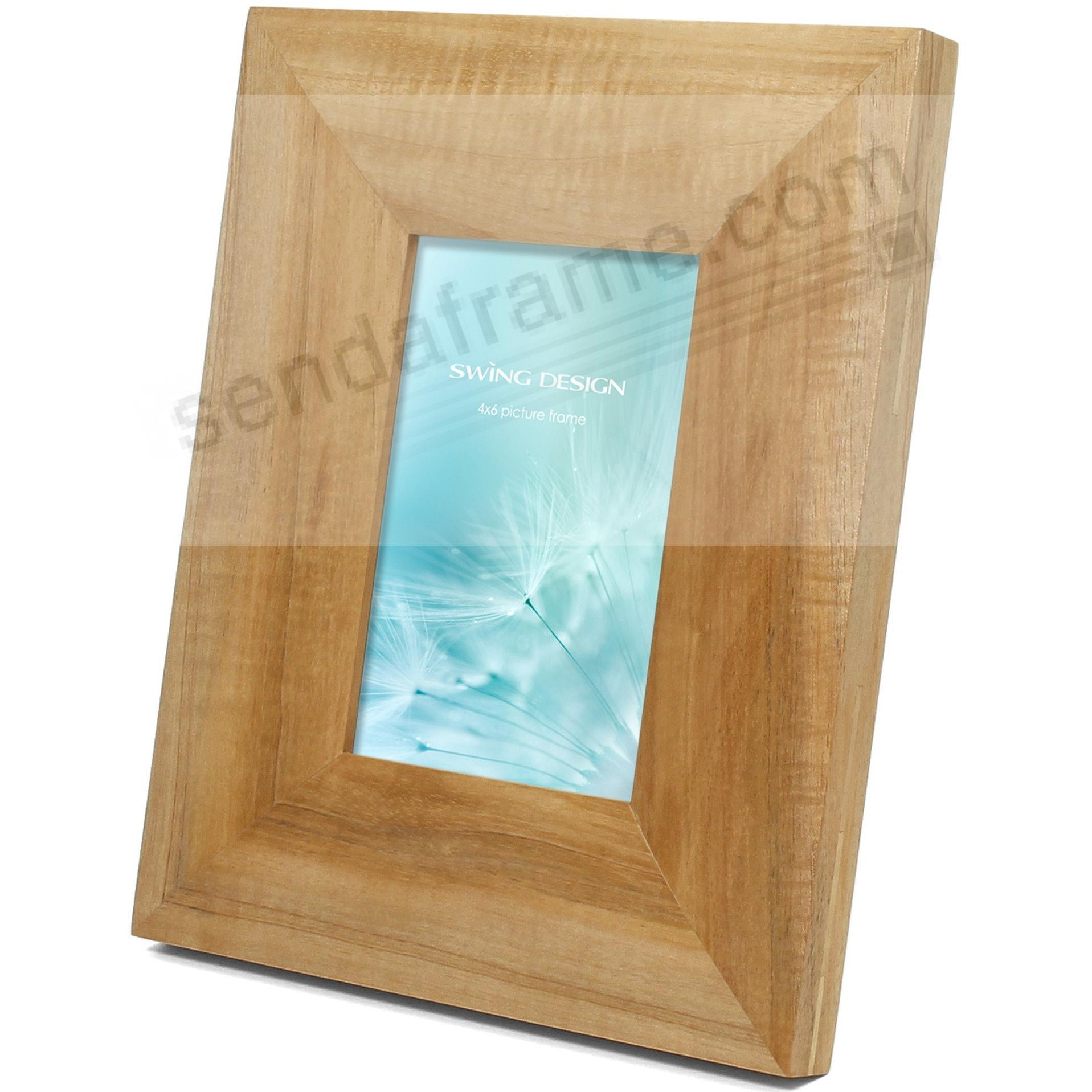 The ARTISAN Natural Solid MARAGOSA 4x6 frame by Swing Design®