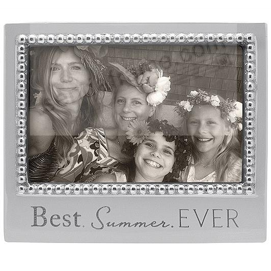 The original BEST SUMMER. EVER Statement frame crafted by Mariposa®