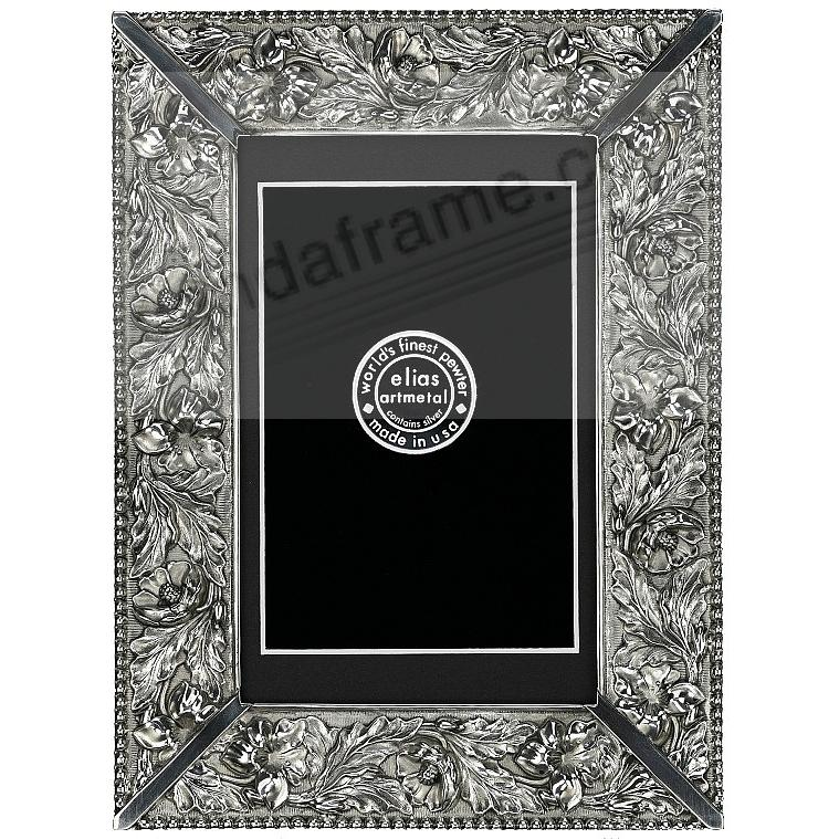 WEDDING FLOWERS Fine Pewter 8x10/7x9 by Elias Artmetal®