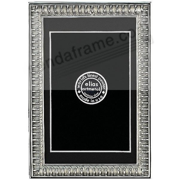 SPARTAN SHIELD Repeating Bar Border 9x12/8x10 frame by Elias Artmetal®