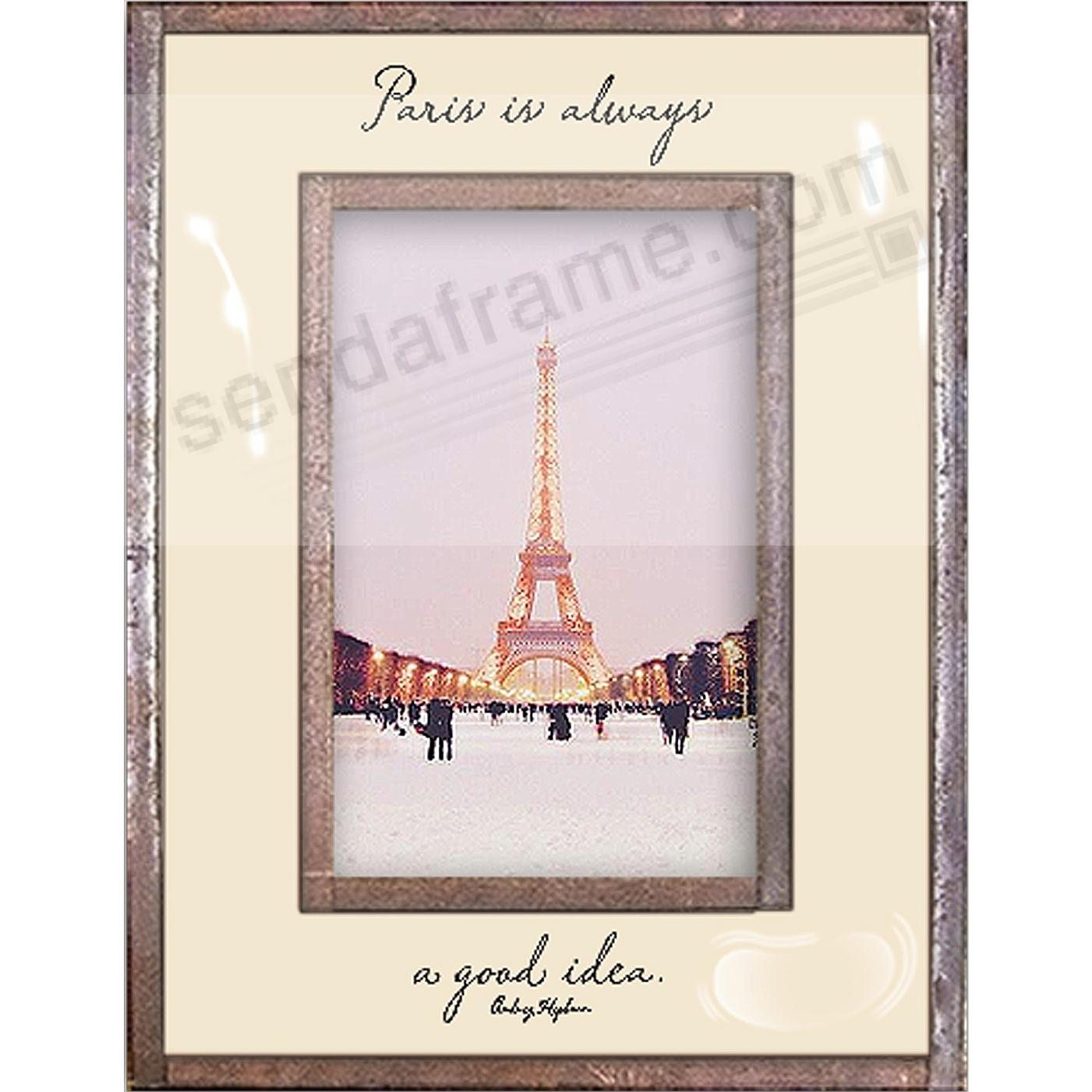 PARIS IS ALWAYS A GOOD IDEA Copper + Clear Glass by Ben's Garden®