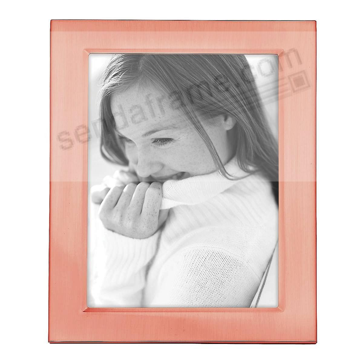 Reed & Barton® CLASSIC ROSE GOLD 5x7 engraveable frame