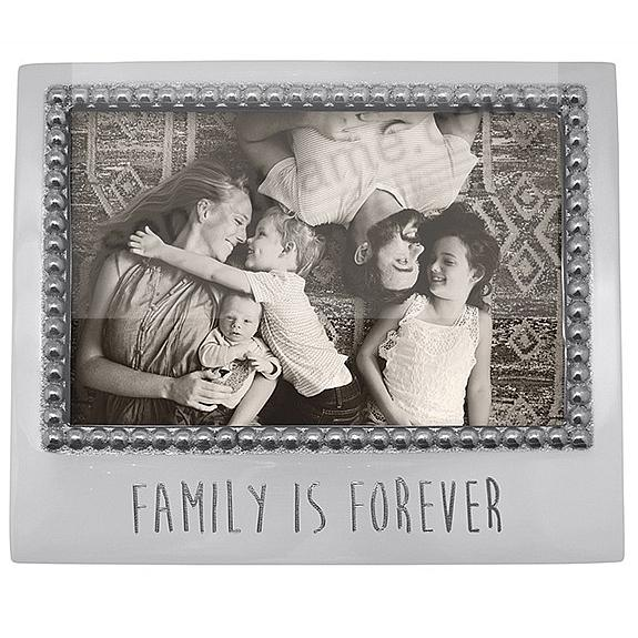 FAMILY IS FOREVER Statement frame crafted by Mariposa®