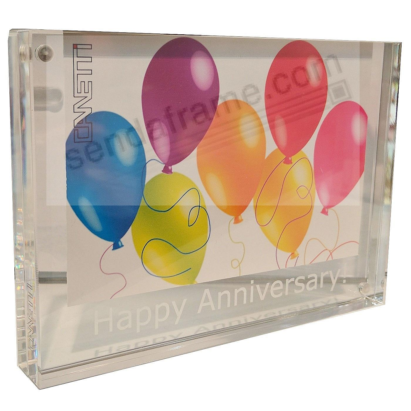 HAPPY ANNIVERSARY! - The Original MAGNET FRAME by Canetti®