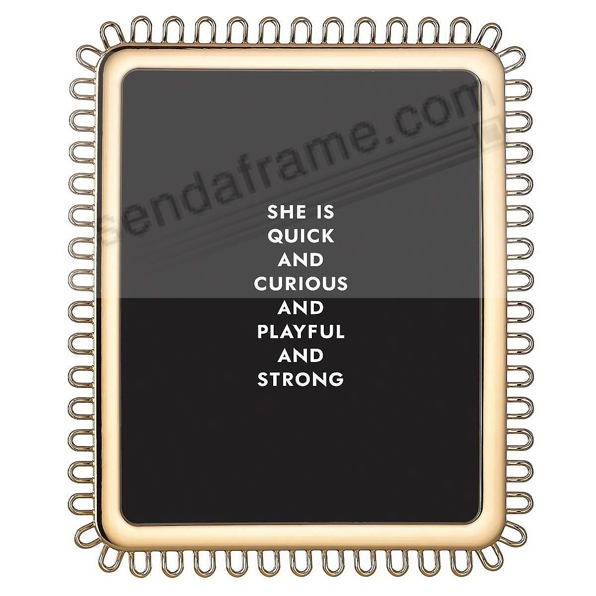 KEATON STREET GOLD frame for 8x10 prints by kate spade new york®