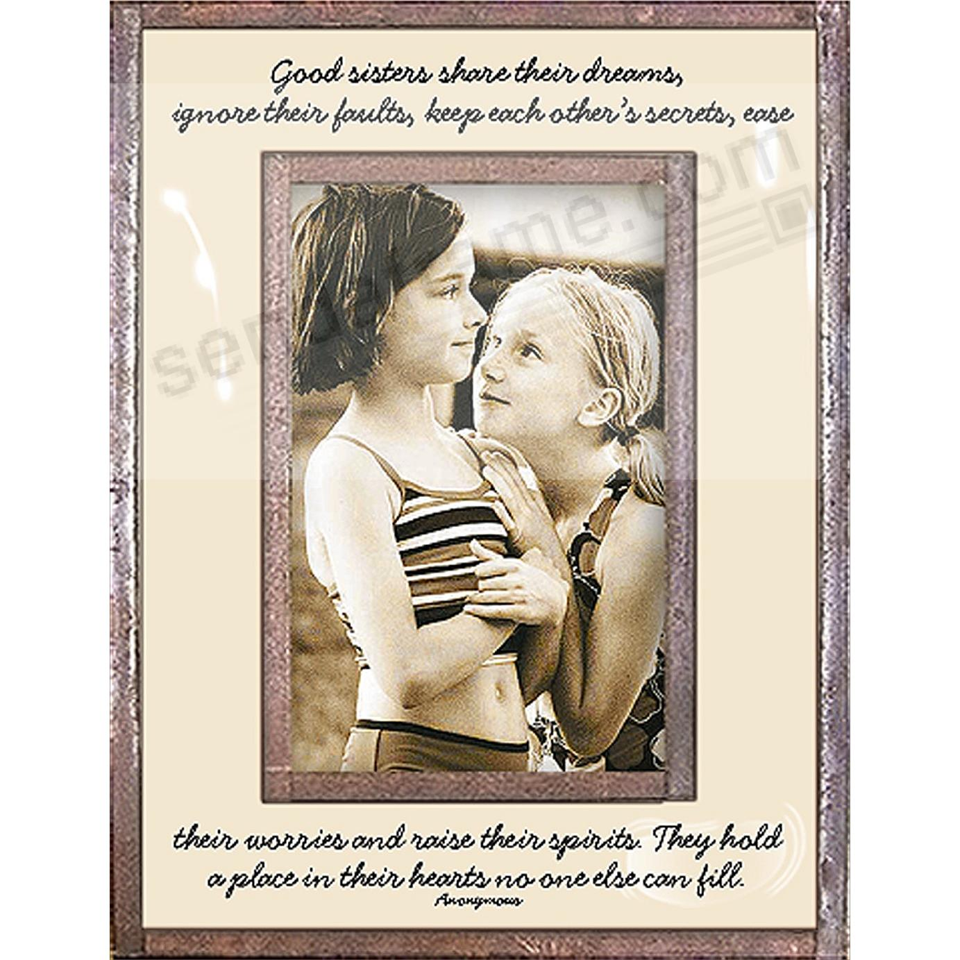 SISTERS SHARE THEIR DREAMS... Copper + Clear Glass by Ben's Garden®