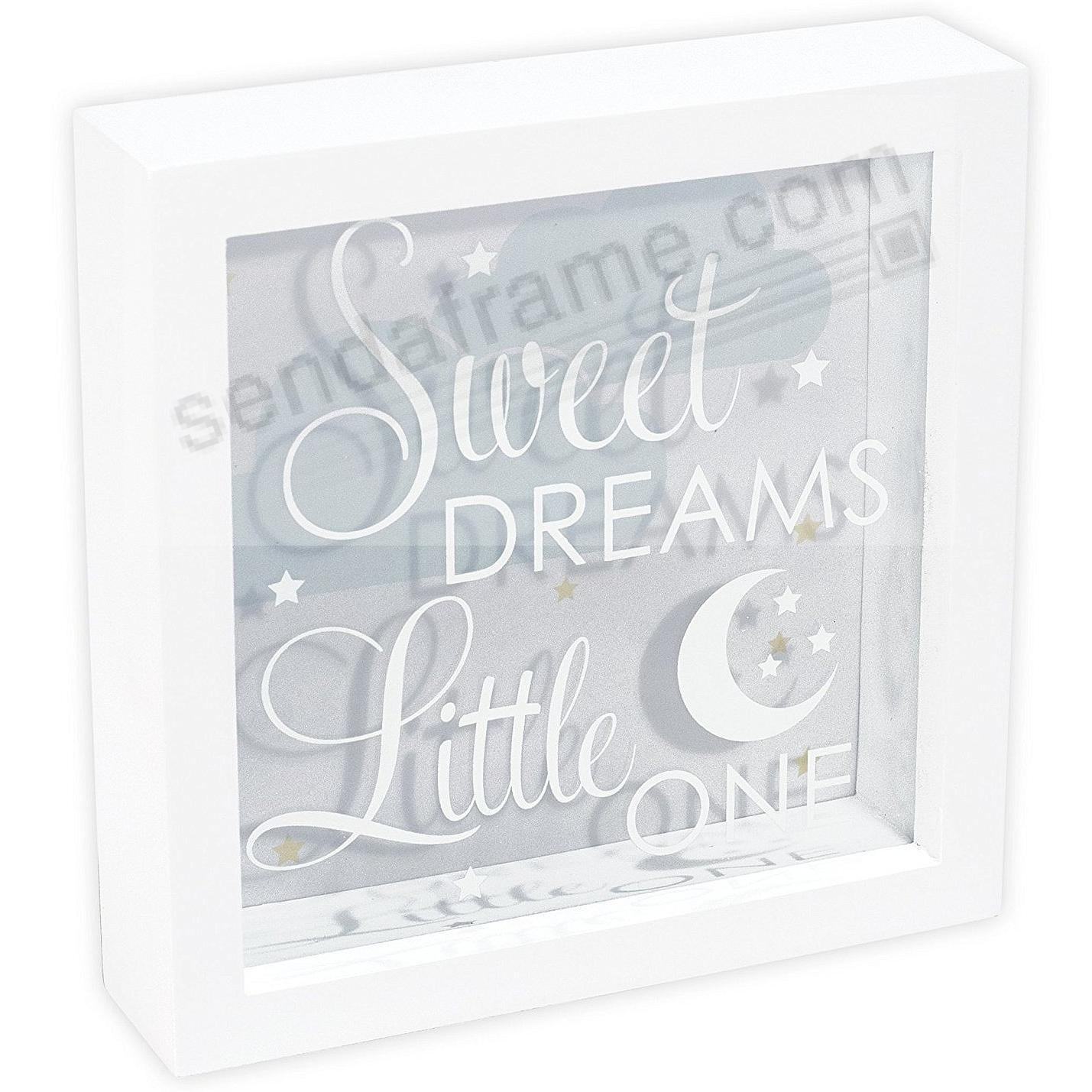 SWEET DREAMS White SHADOWBOX