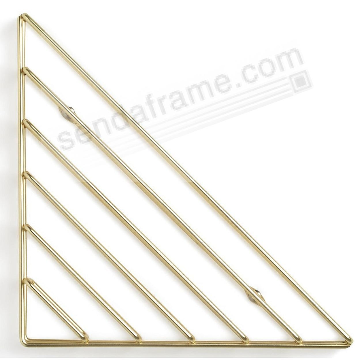 The Original STRUM BRASS WALL SHELF by Umbra®