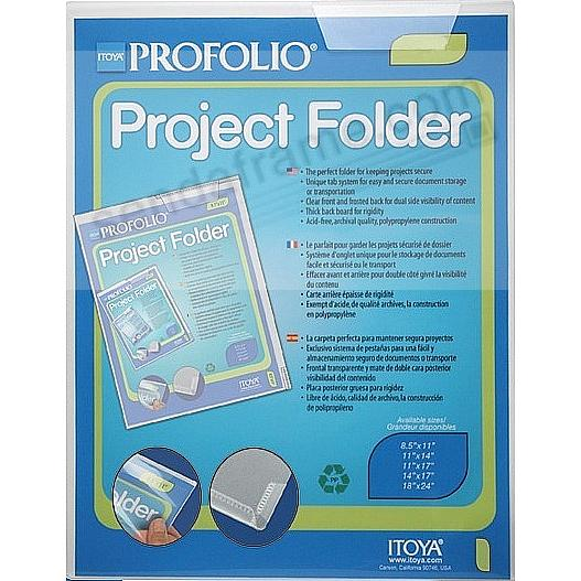 The Original PROJECT FOLDER 8½x11 by Itoya®