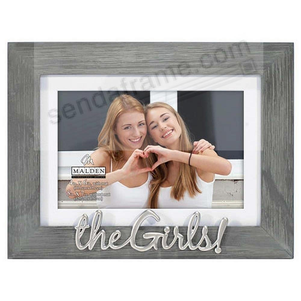 THE GIRLS! 5x7/4x6 Matted Frame Captures a special moment together