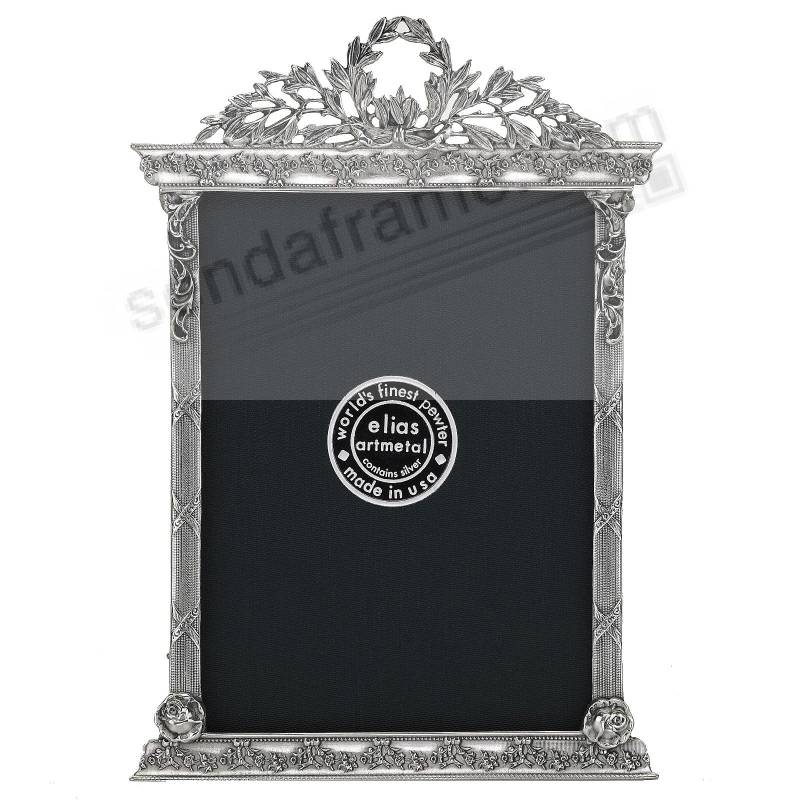 FRENCH TABERNACLE Silvered Fine Pewter by Elias Artmetal®