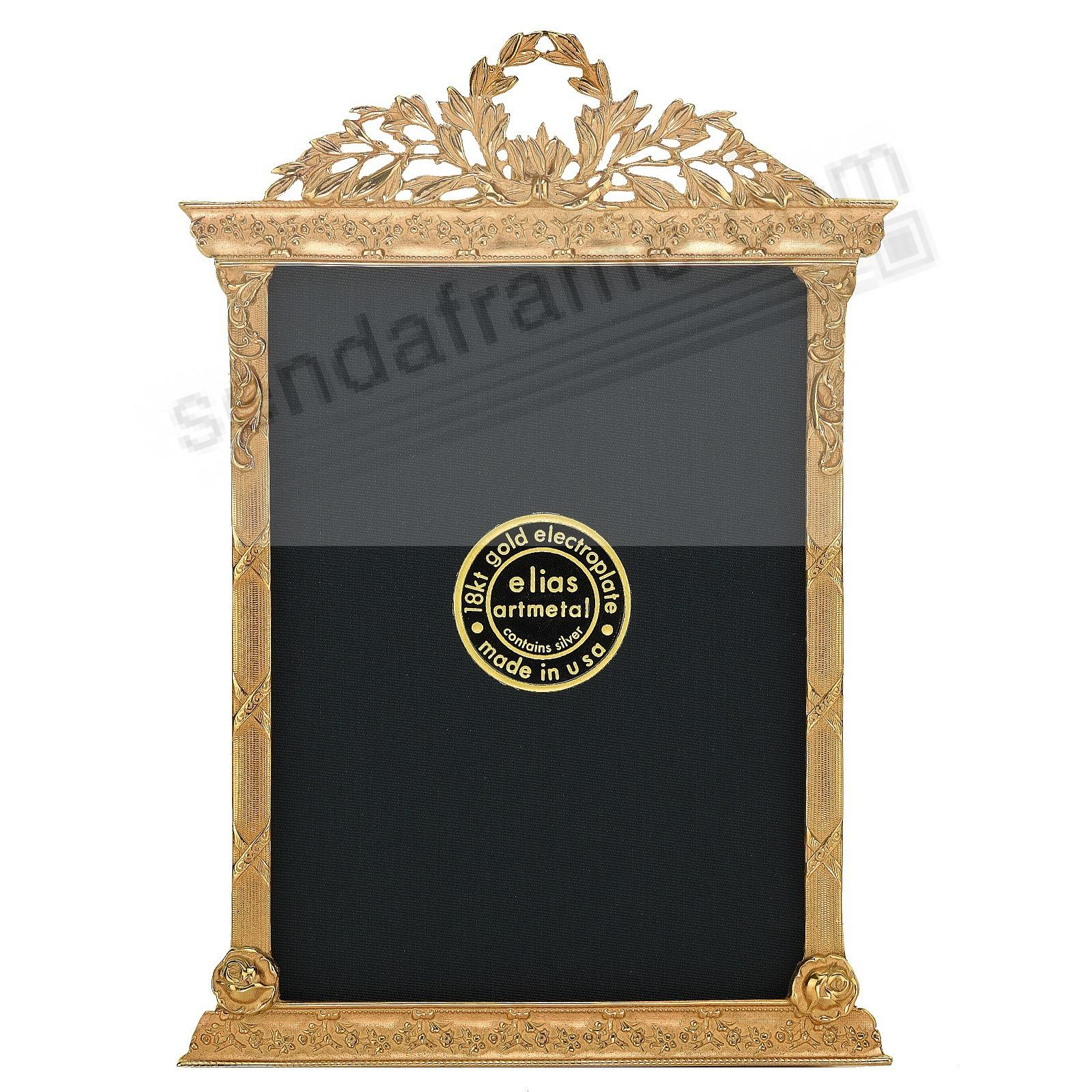 FRENCH TABERNACLE 18kt Museum Gold Over Fine Pewter by Elias Artmetal®