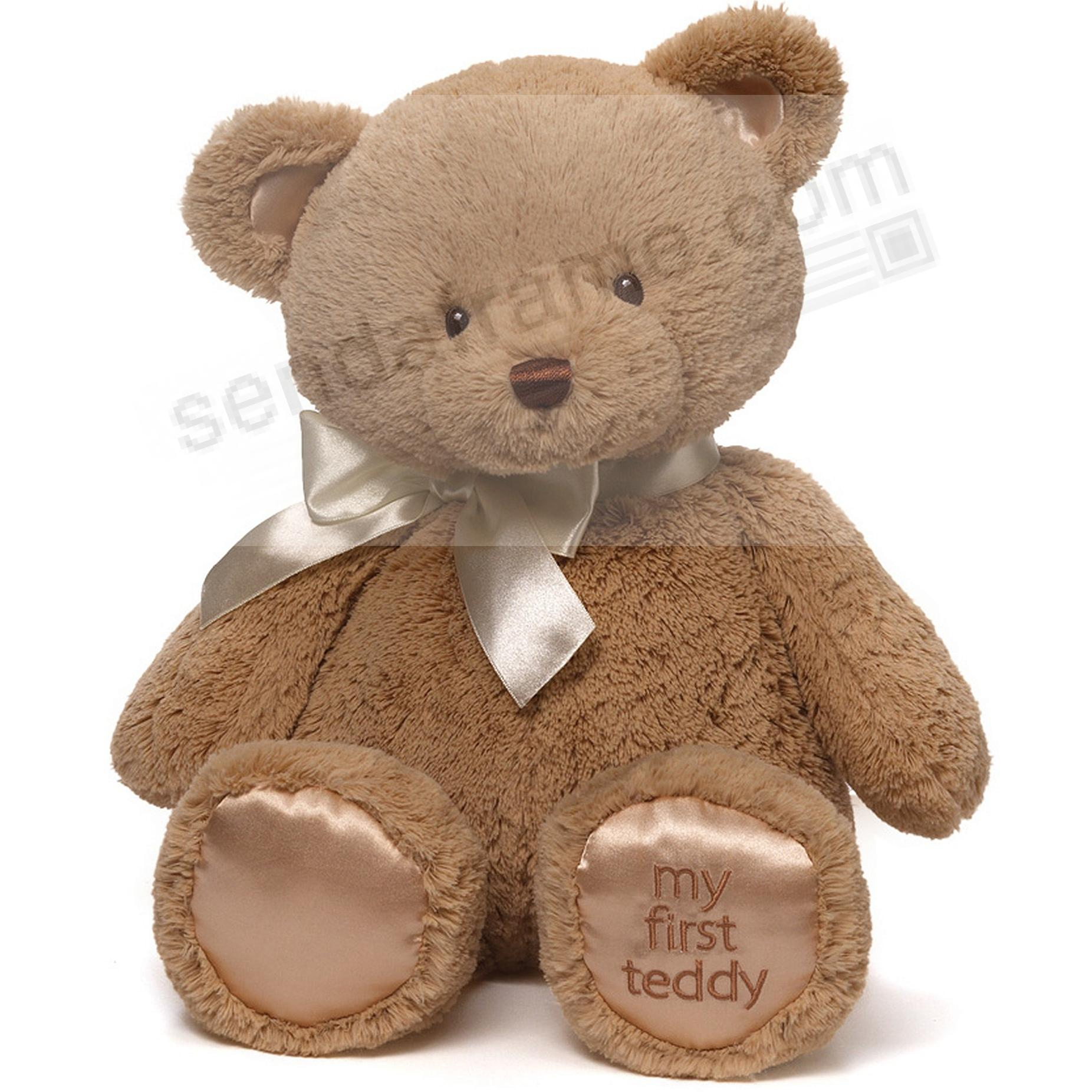 MY FIRST TEDDY plush toy bear by Gund®