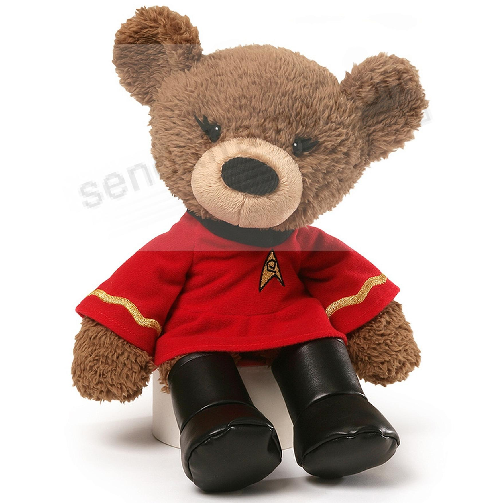 Star Trek Lt. Uhura® plush 13½in Bear by Gund®