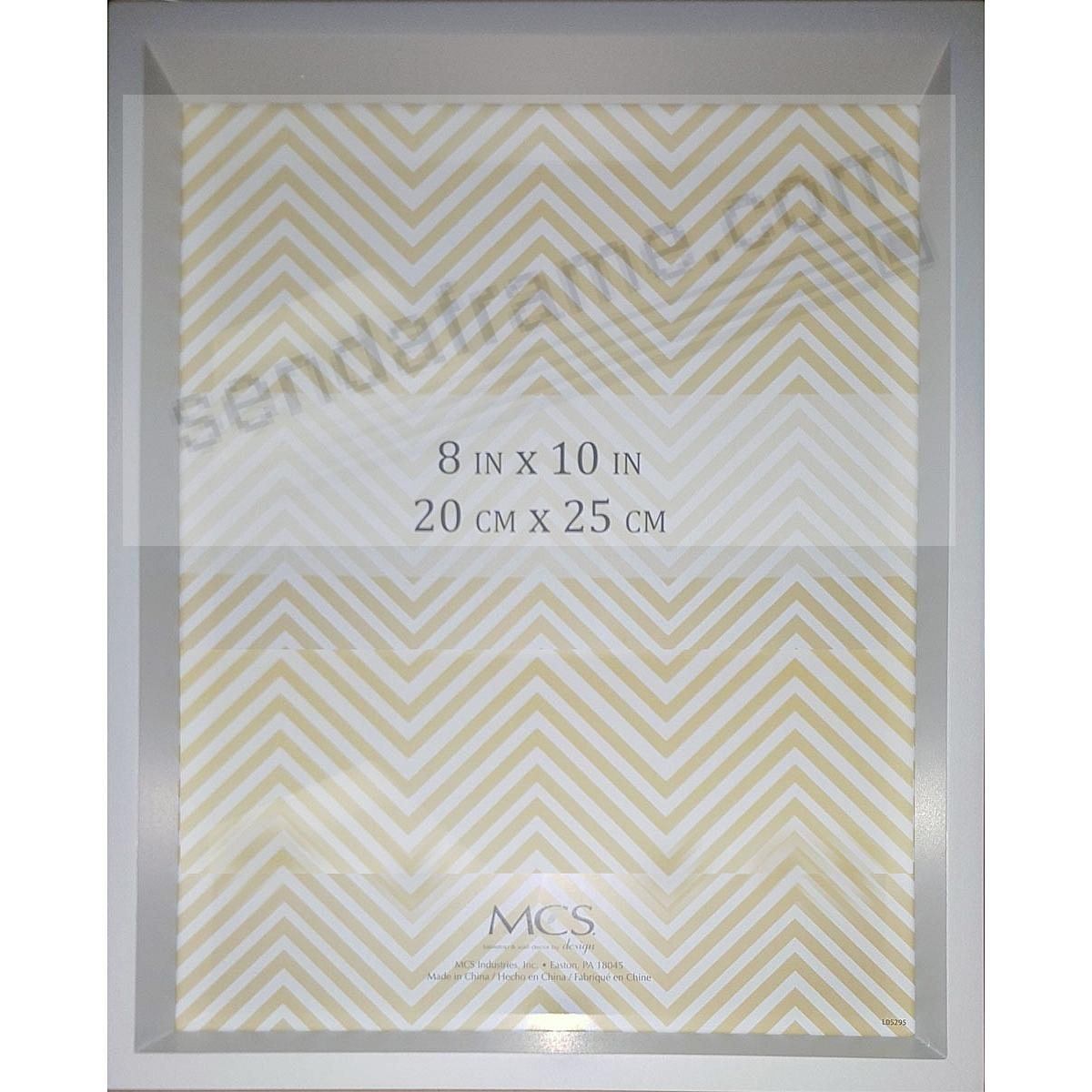 Light-Gray Shadow Box ¾in depth Wood 8x10 frame by MCS®