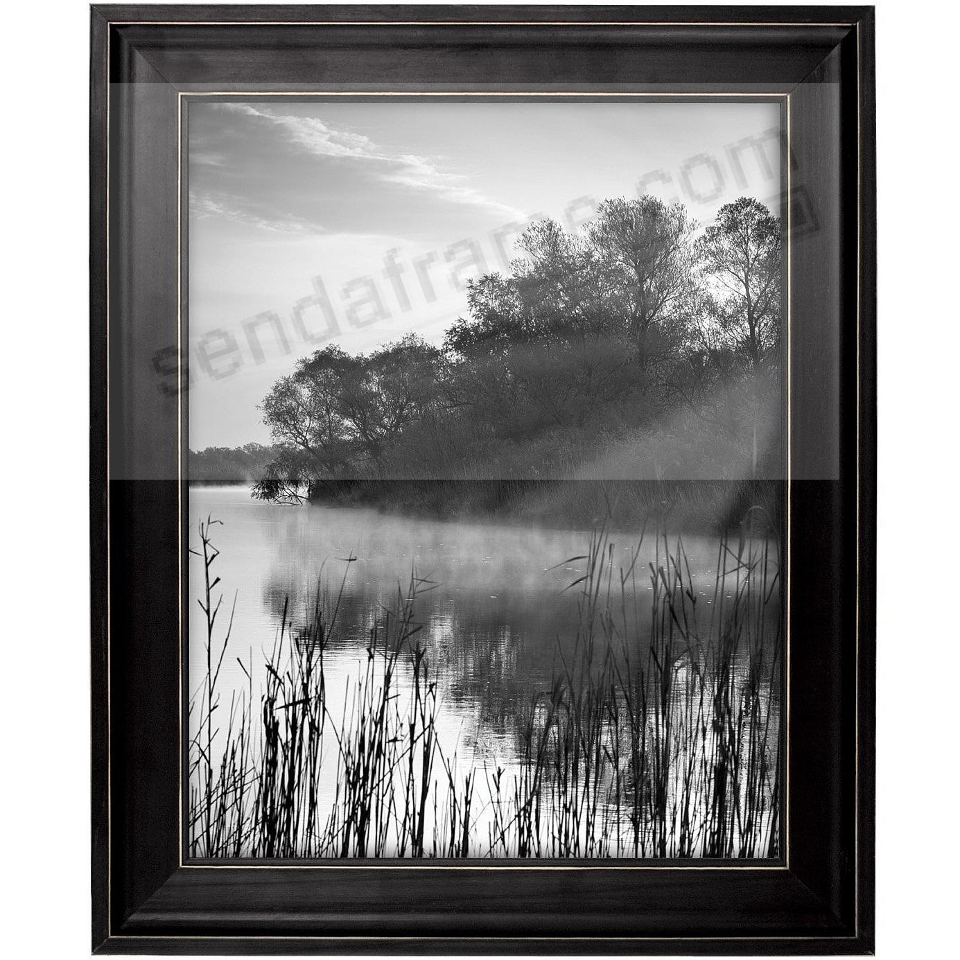 SANDLINE Distressed Wood BLACK Frame from MCS