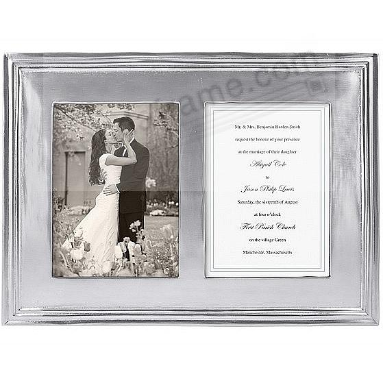 DOUBLE CLASSIC frame for 5x7 prints by Mariposa®