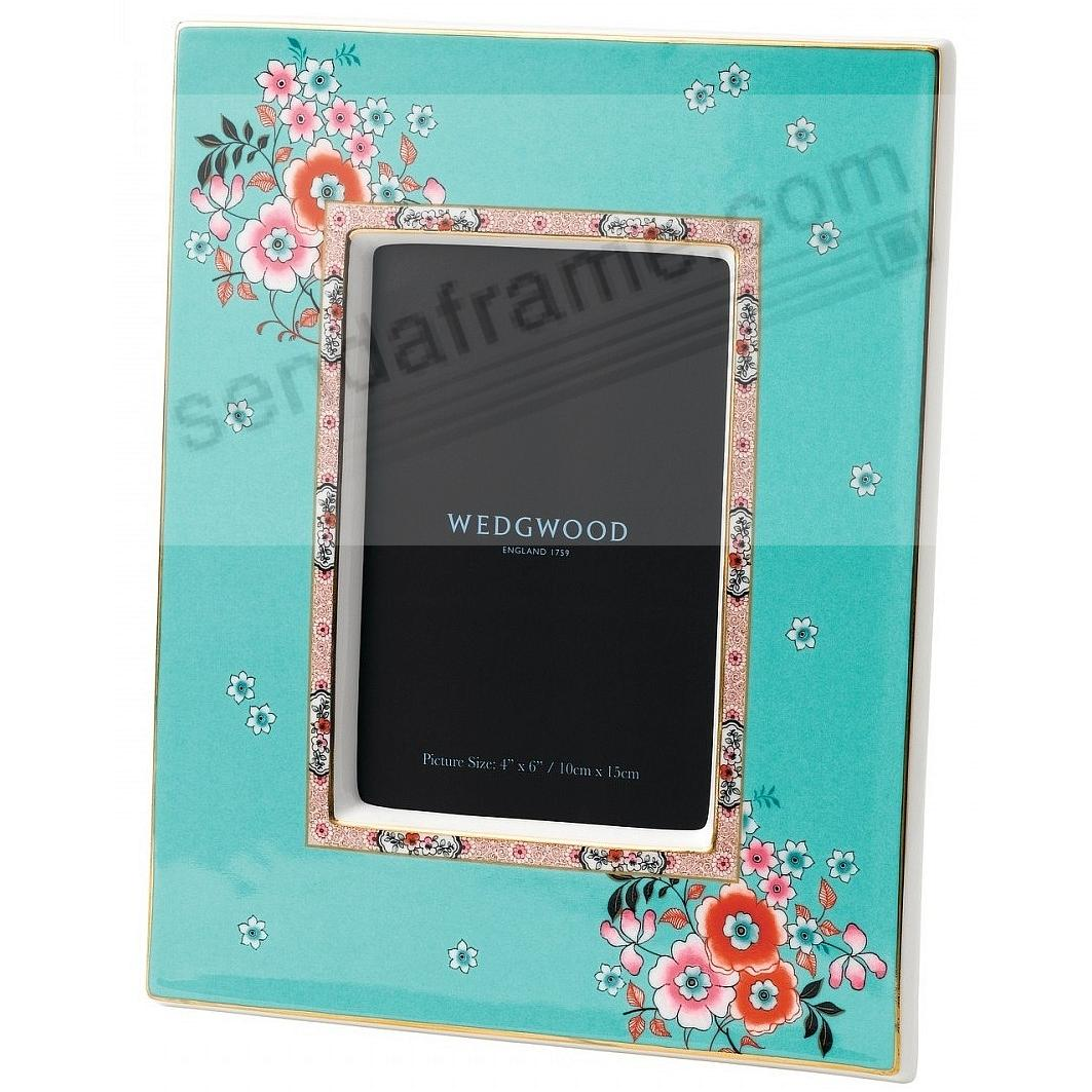 Wonderlust CAMELLIA 4x6in Picture Frame by Wedgwood®