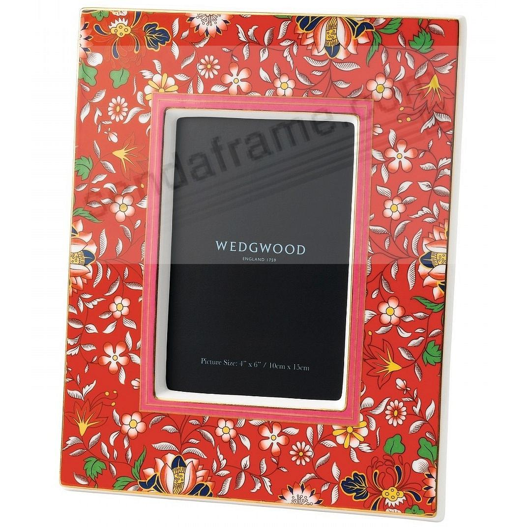 Wonderlust CRIMSON JEWEL 4x6in Picture Frame by Wedgwood®