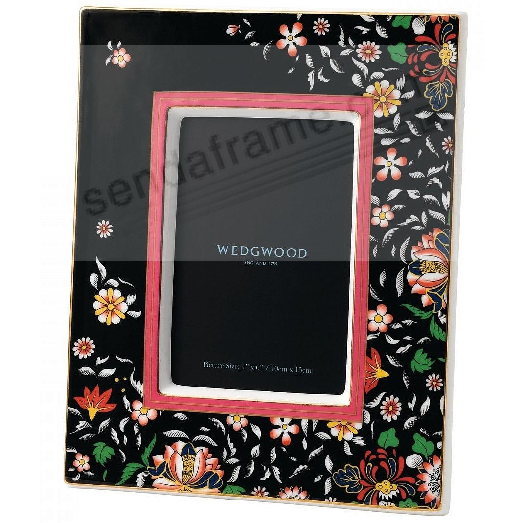 Wonderlust ORIENTAL JEWEL 4x6 Picture Frame by Wedgwood®