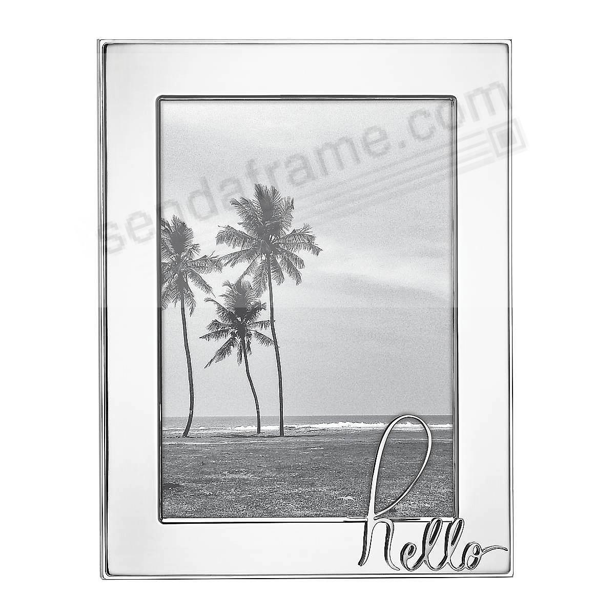 IN A WORD™ HELLO 5x7 frame by kate spade new york®