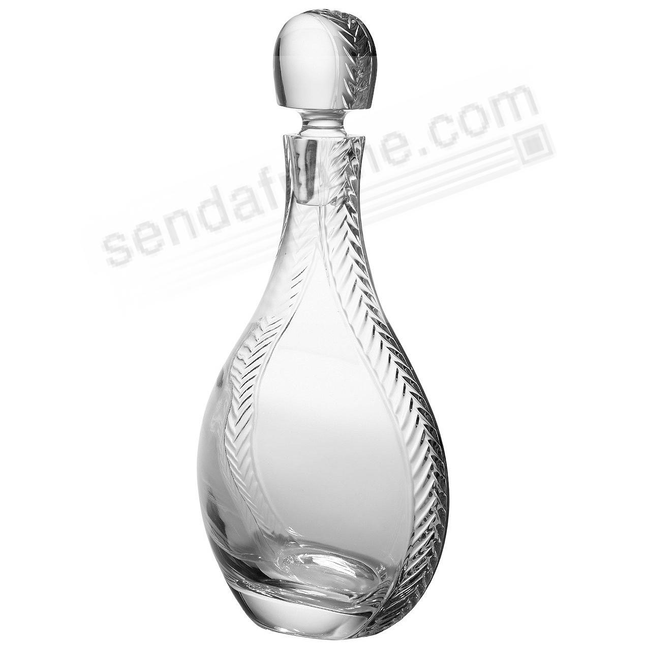 The Original BRAID CRYSTAL DECANTER by Nambe®