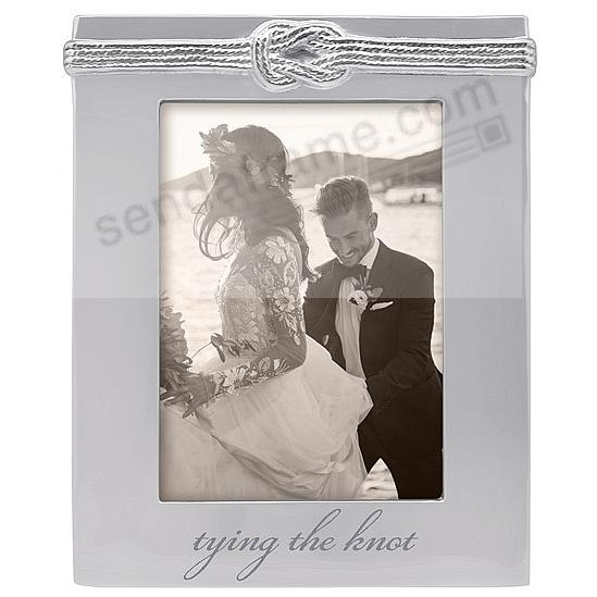 The Mariposa® TYING THE KNOT Frame for your 4x6 print