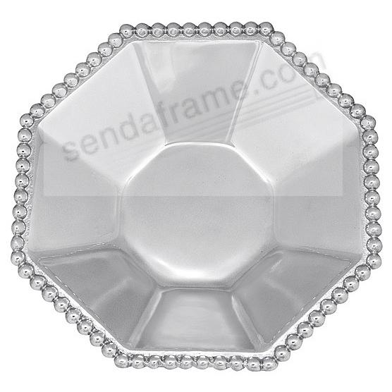 The Original PEARLED SMALL OCTAGONAL BOWL by Mariposa®