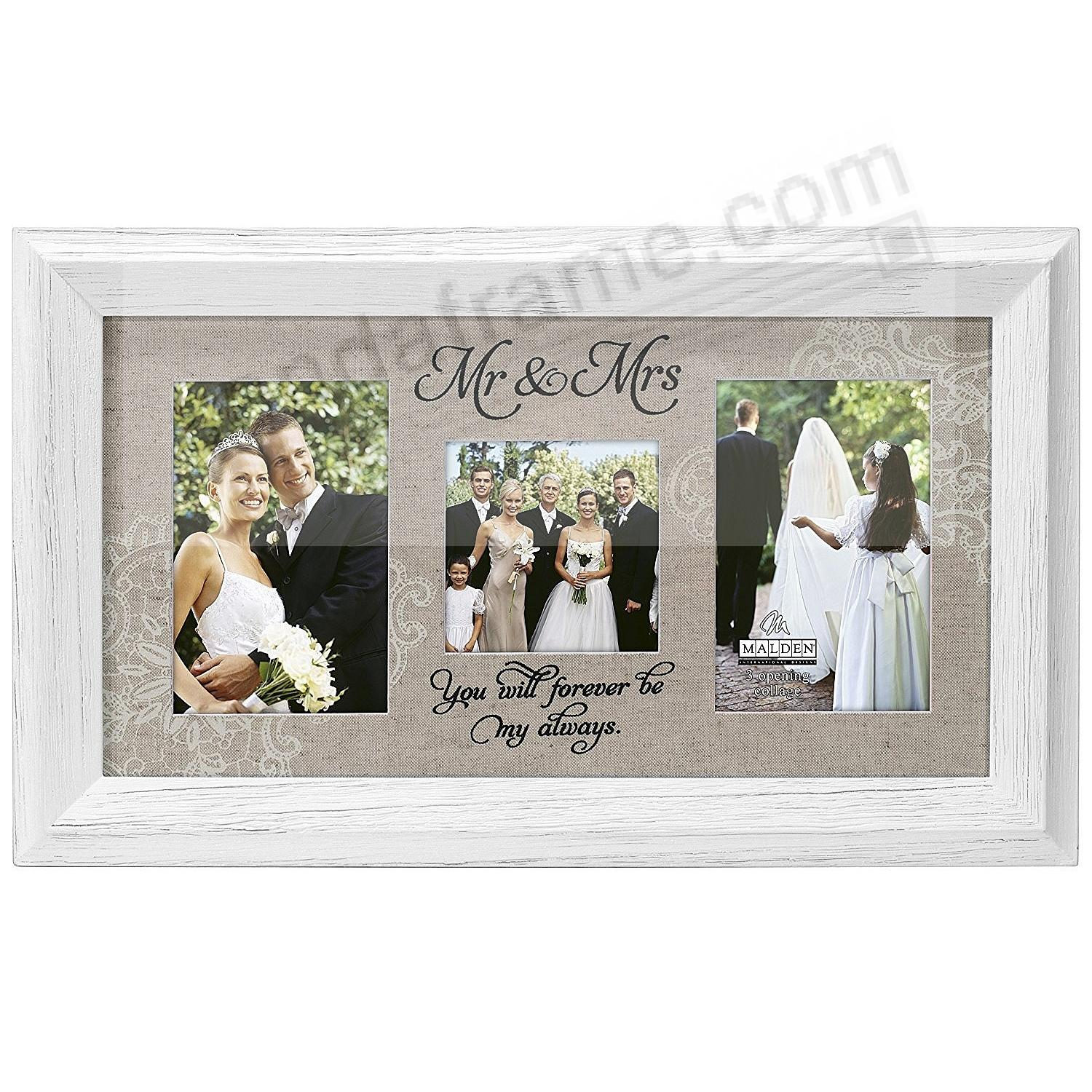 Mr. & Mrs Expressions frame by Malden®