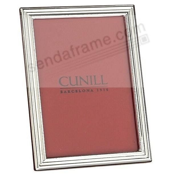The Cunill® CLASSIC Fine Sterling Silver 5x7 frame