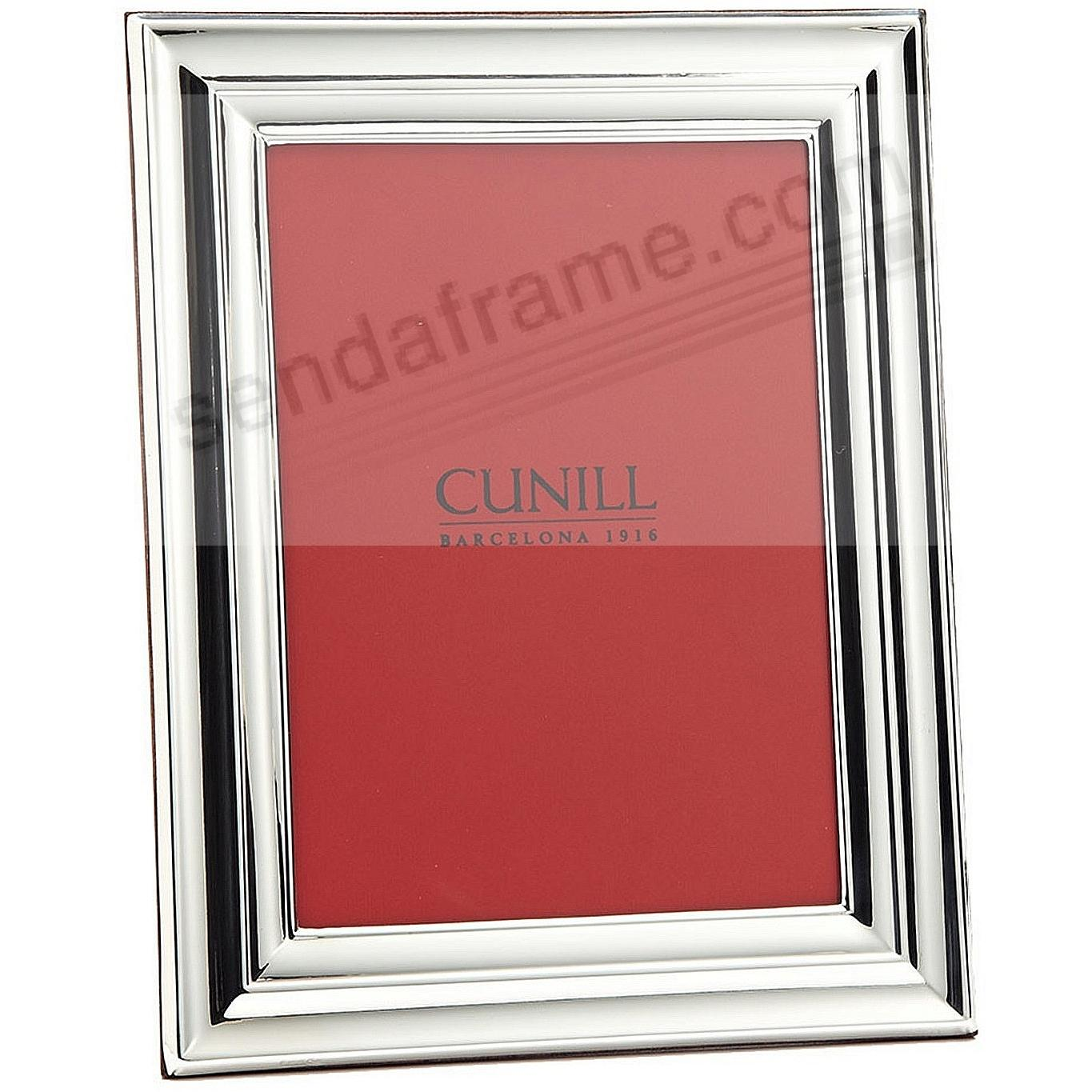 EMPIRE Fine .925 Sterling Silver 8x10 frame by Cunill®