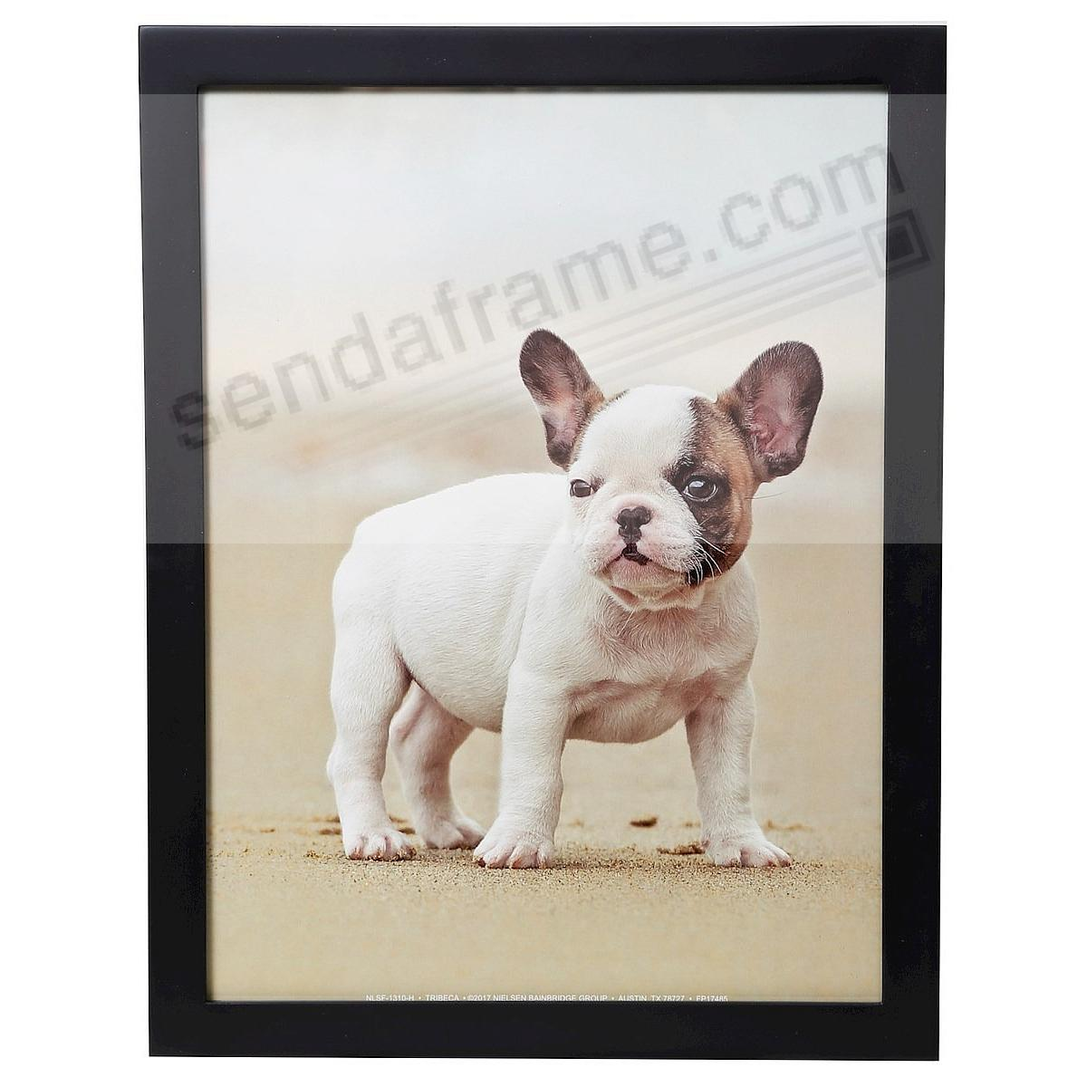 Matte-Black TRIBECA archival wood wall frame by ARTCARE®