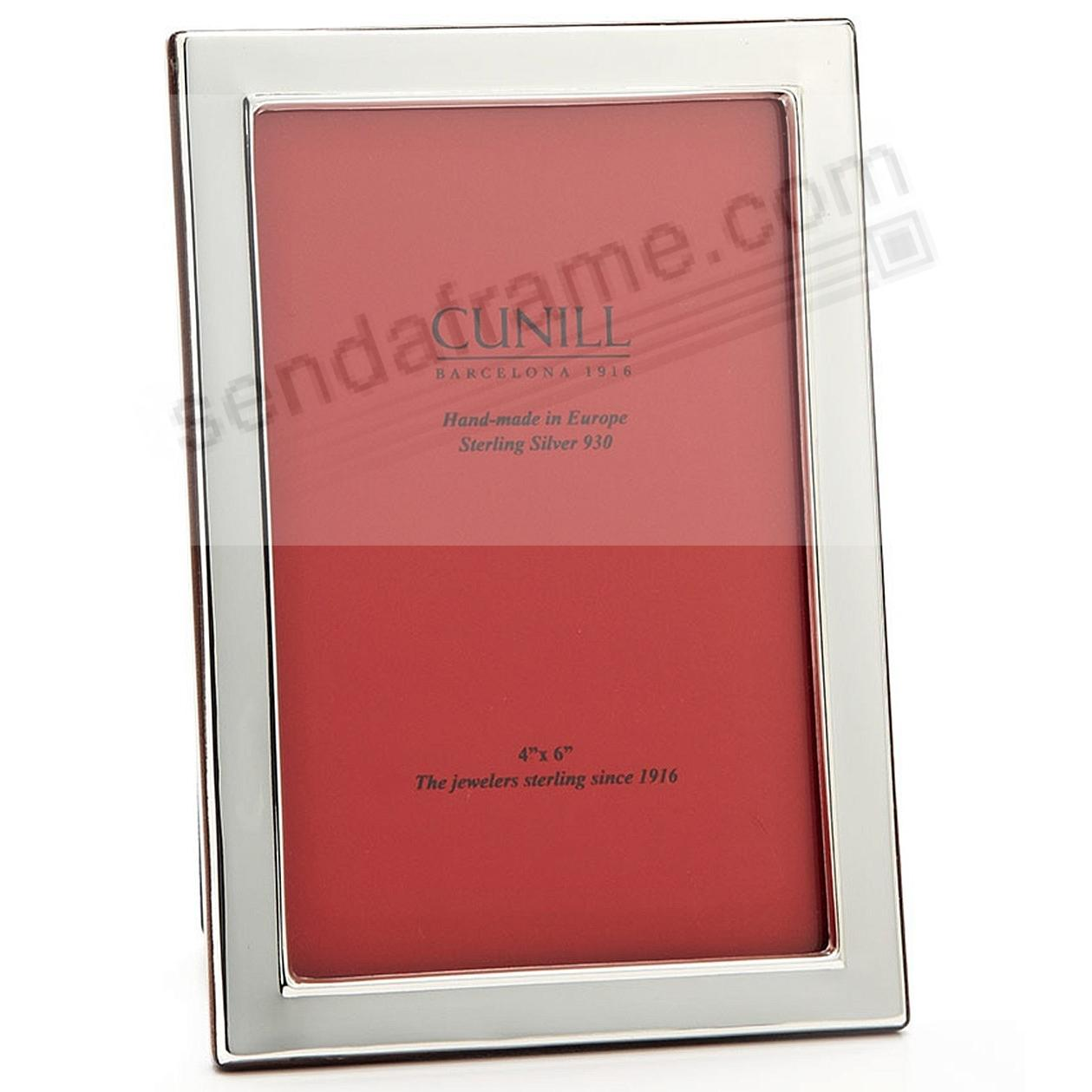 PLAIN Fine Sterling Silver 11x14 frame w/ ½-inch border by Cunill®
