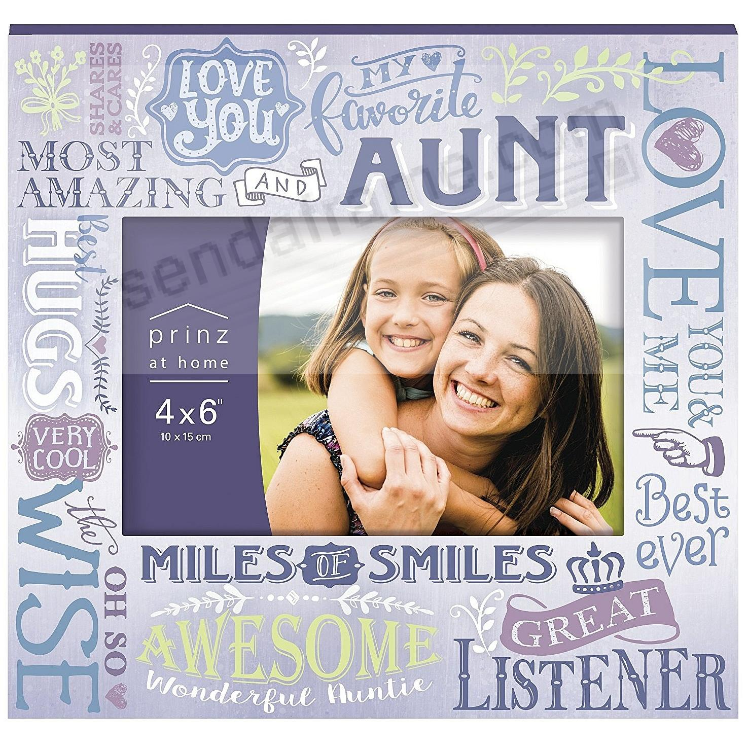 MORE THAN WORDS - AUNT - Wood Frame by Prinz®