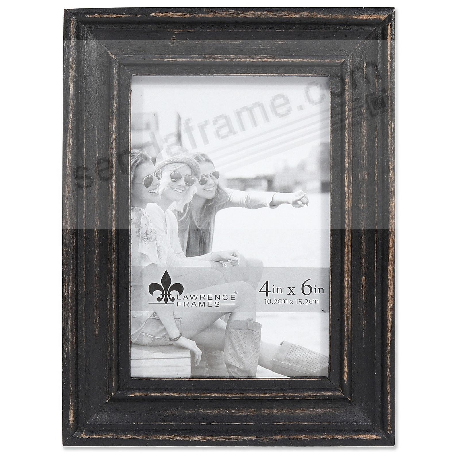 Weathered DURHAM BLACK WOOD frame by Lawrence®