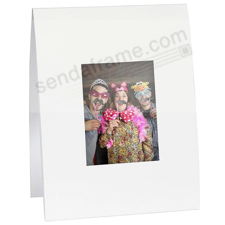 Fuji Instax Mini™ size white portrait folder frames