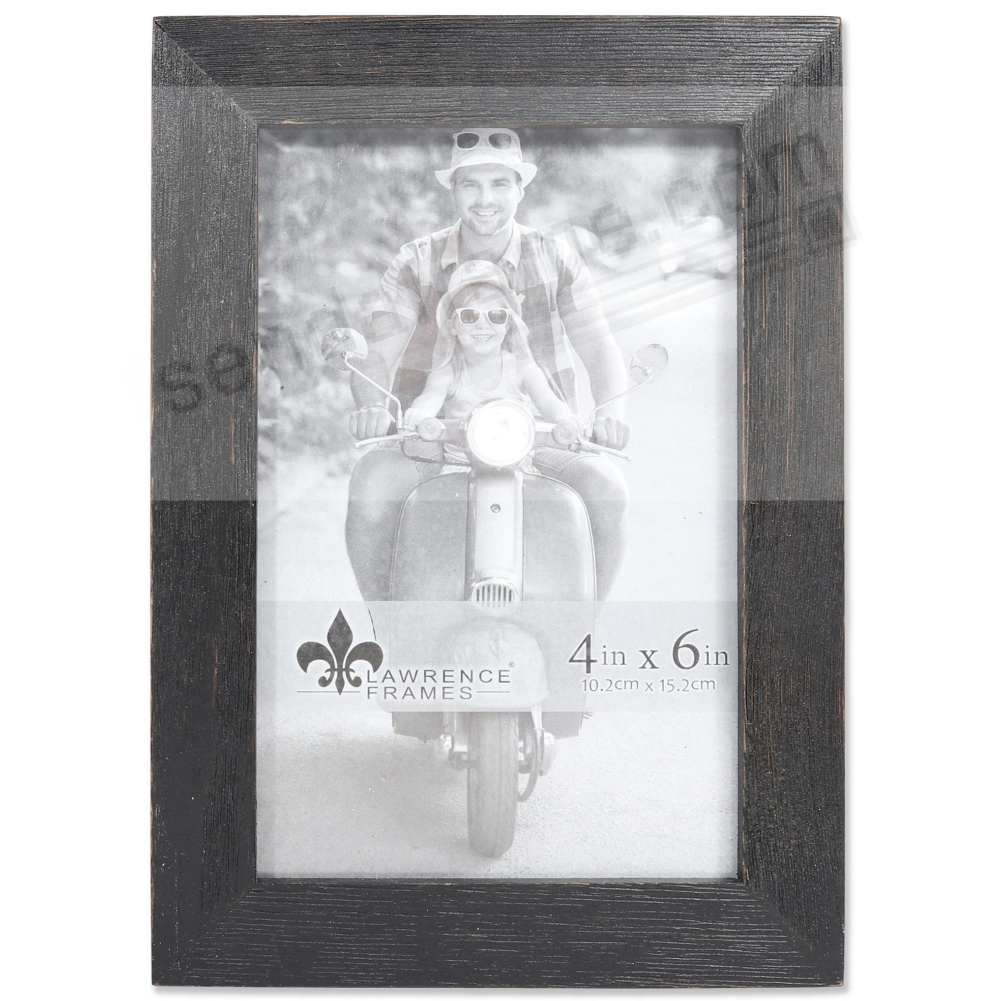 Weathered CHARLOTTE BLACK WOOD frame by Lawrence®
